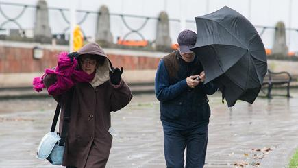 Storm Clodagh causes chaos - in pictures