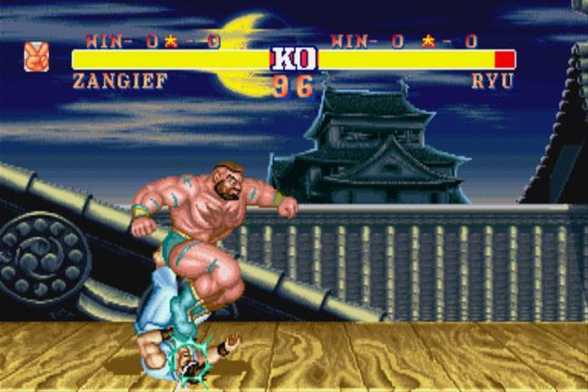 Retro Gaming Street Fighter 2 Turbo Bt