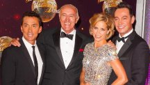 Craig Revel Horwood with his fellow Strictly Come Dancing judges