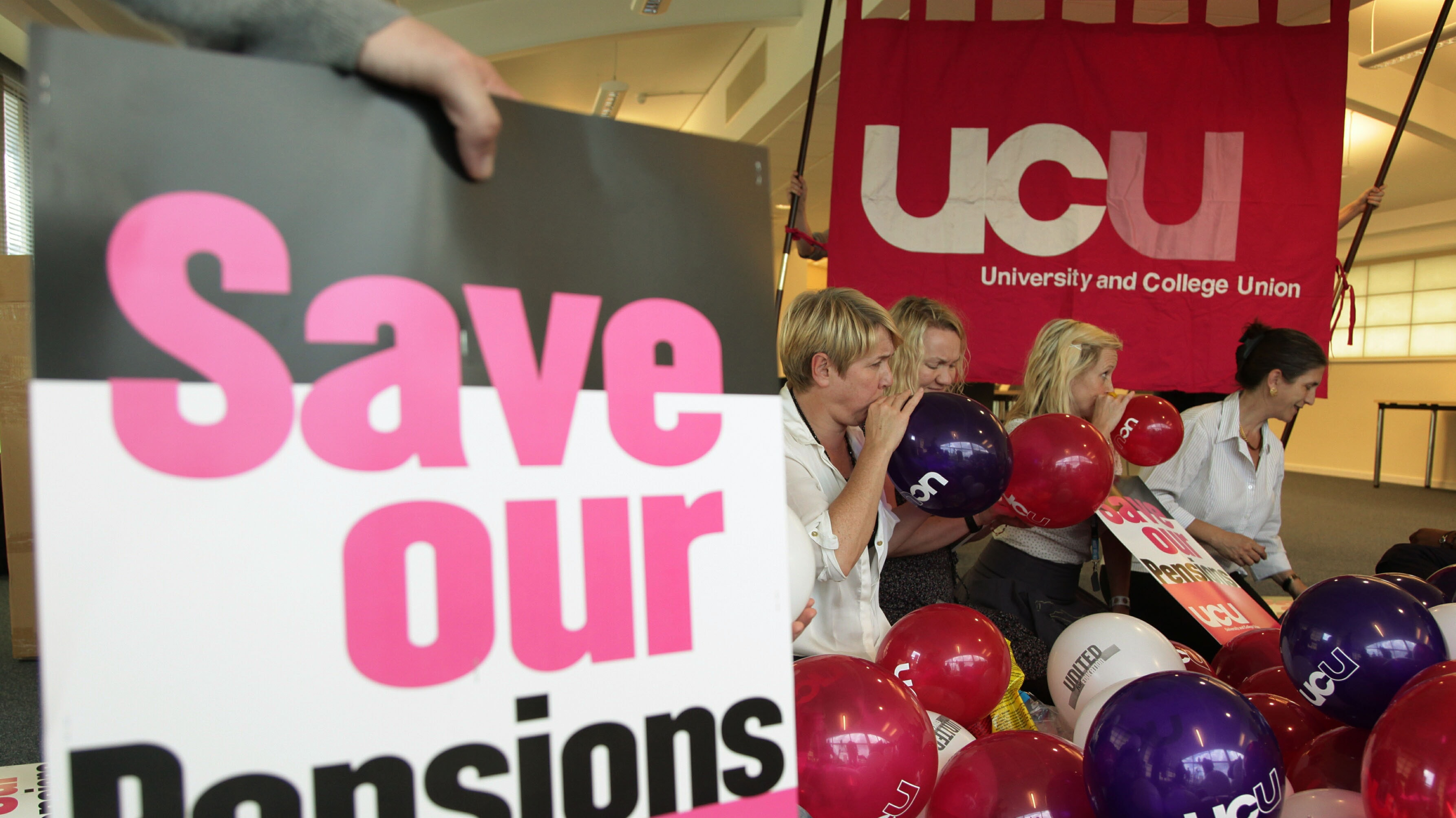 Queen's and Ulster universities disrupted by strike action