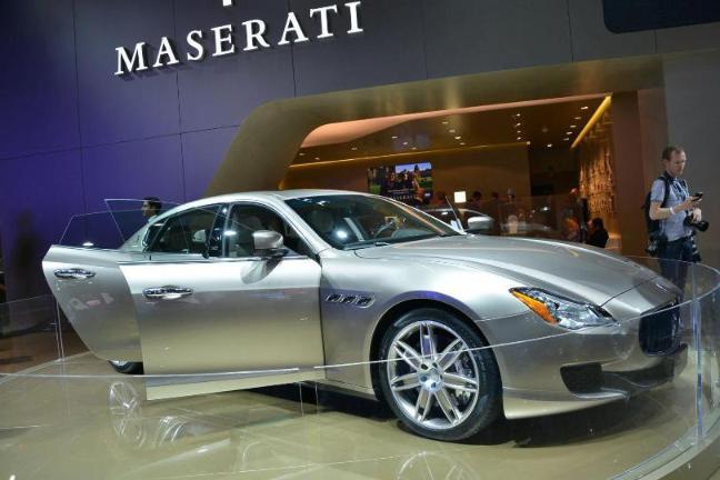 Stylish New Maserati Quattroporte Bt