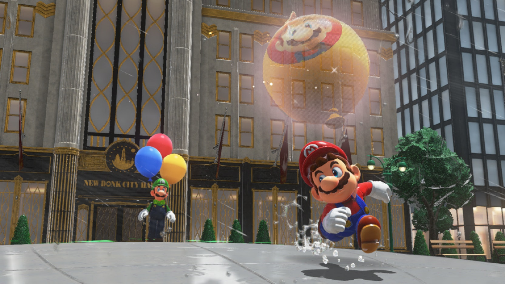 Luigi's Balloon World Update Coming To Mario Odyssey On Thursday