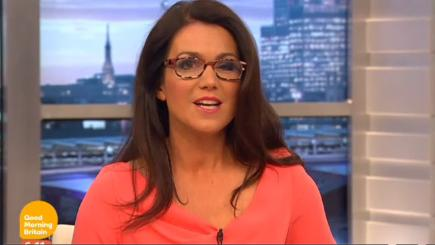 Susanna Reid has a wardrobe malfunction