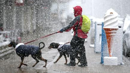 North-east's freezing spell may last for most of week say Met Office