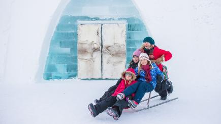 Sweden's ICEHOTEL #28 is open and you won't believe what it looks like…