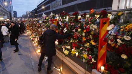 Truck attack suspect showed interest in IS
