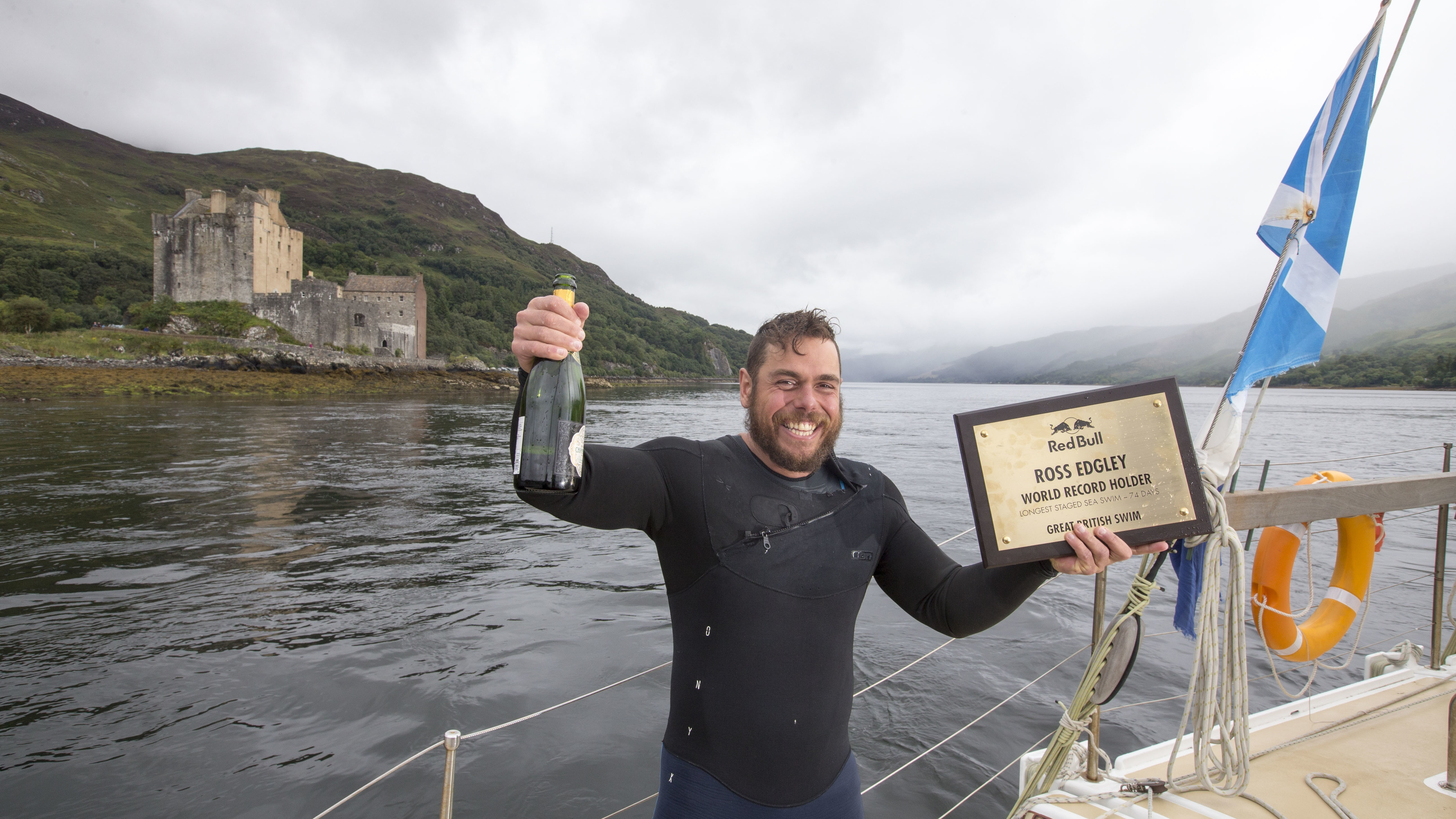 Swimmer becomes first to ever circumnavigate Great Britain   BT
