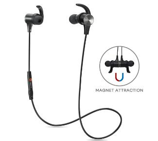 TaoTronics Bluetooth 4.1 Magnetic Earbuds