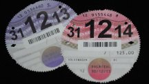 Vehicle owners no longer have to display their road tax disc on their windscreen