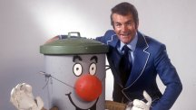 Ted Rogers and Dusty Bin