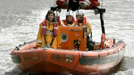 A 16-year-old boy was pulled from the Thames by the Tower RNLI lifeboat