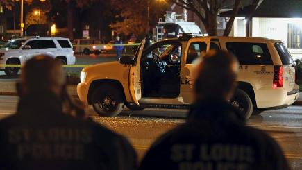 Authorities say Texas, Missouri, officers shot in ambushes