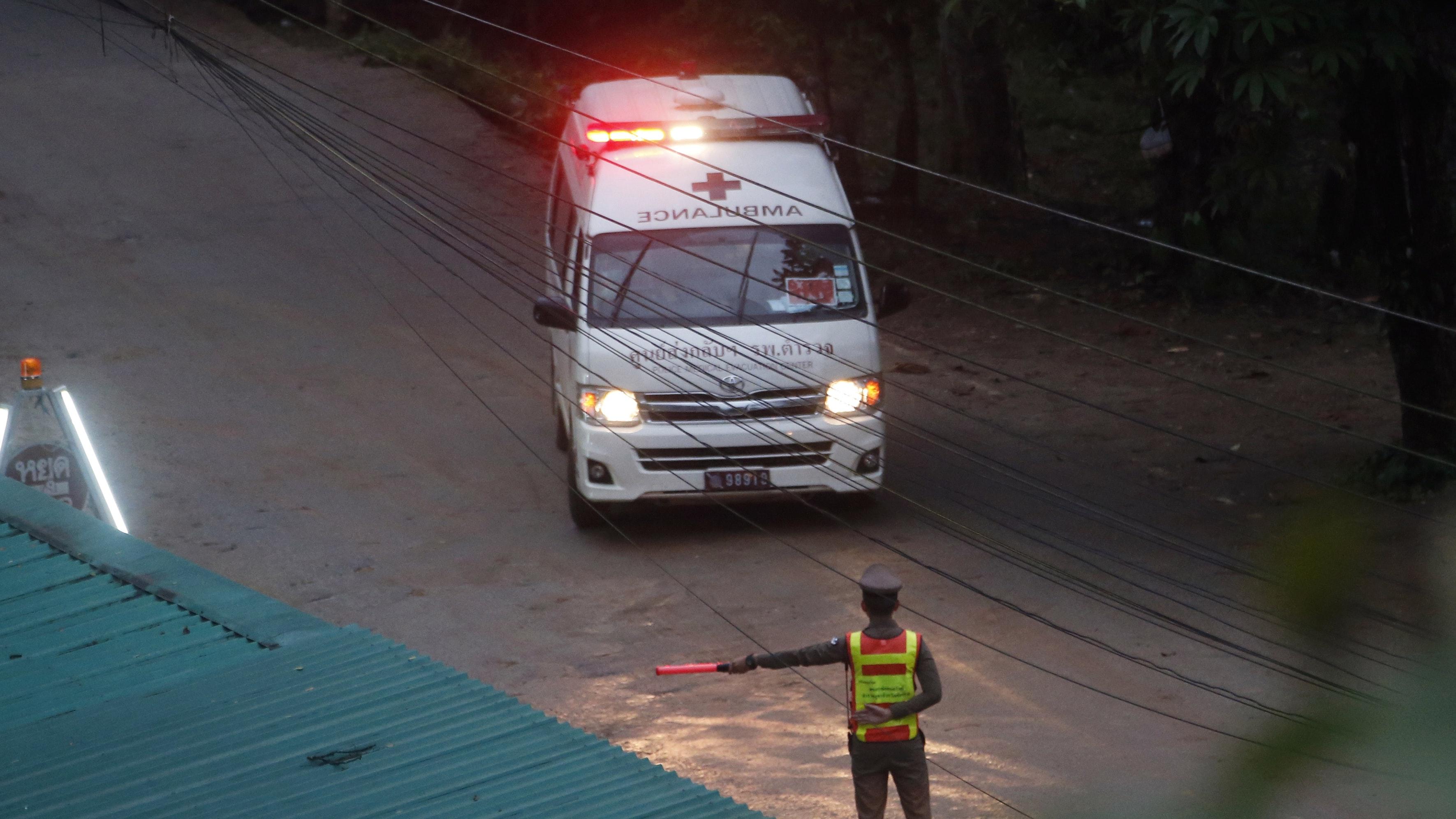 thai cave rescue operation - photo #11