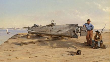 Shocking fate of American Civil War submarine Hunley is revealed