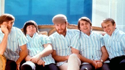 The Beach Boys - (from left) Dennis Wilson, Carl Wilson, Mike Love, Brian Wilson and Al Jardine