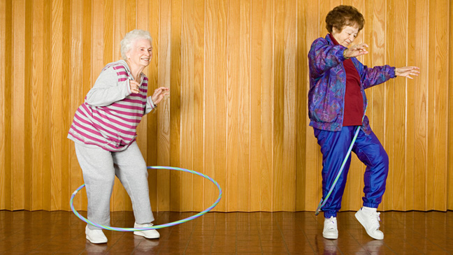 Benefits Of Exercise For The Elderly BT - Best flooring for seniors