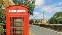 Cover of The British Phonebox by Nigel Linge and Andy Sutton