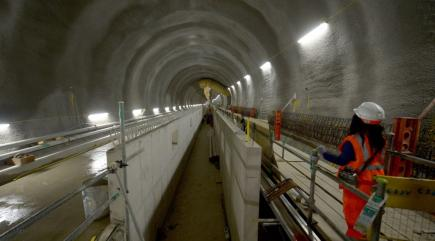 the crossrail tunnels are finished   and look very impressive 136398484580310401 150604061031.'