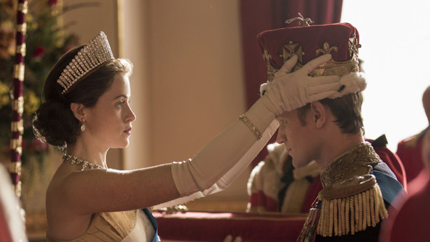 The Crown season 2 - Claire Foy and Matt Smith