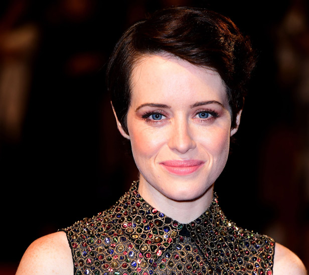 Claire Foy on The Crown season 2 red carpet