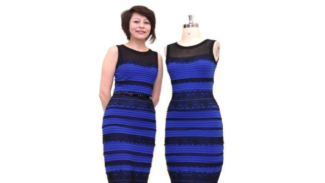 The Dress Sold Off For Charity Bt