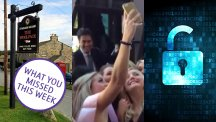 The Emmerdale set, Ed Miliband and a password lock