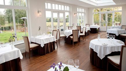 The Forelles restaurant at Fishmore Hall