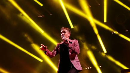 The Killers performed a surprise set at Glastonbury Festival