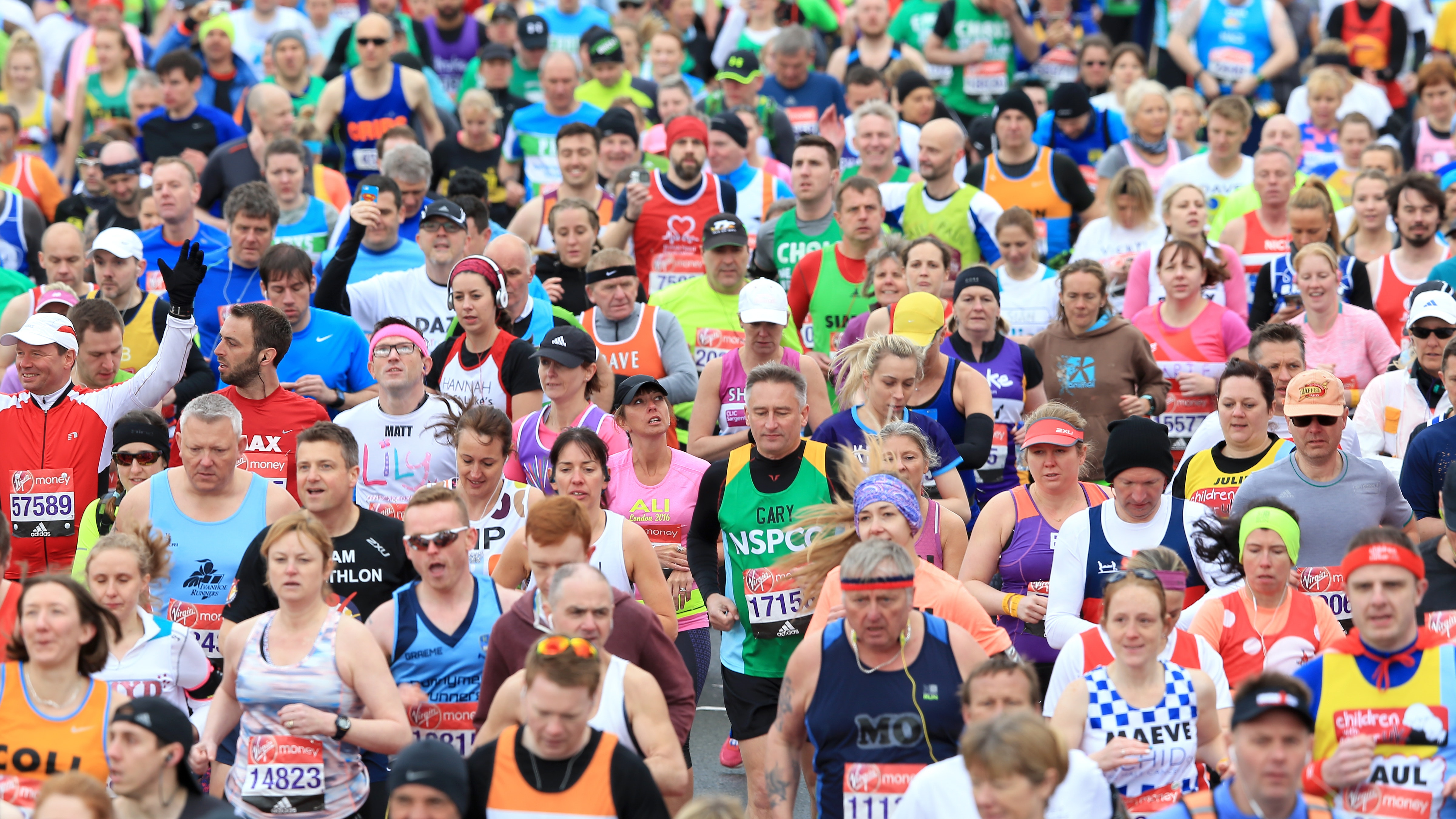 The most asked questions about the London Marathon ...