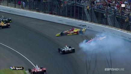 The most brutal motor sport crash this year