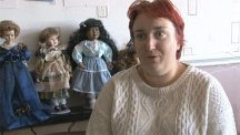 The mum who collects haunted dolls