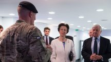 The Princess Royal has helped celebrate the 50th anniversary of a specialist Army reserve unit that recruits telecommunications engineers.