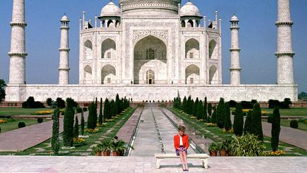 The story behind Diana at the Taj Mahal