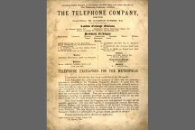 The Telehone Company produced the first phone book in 15 January 1880.