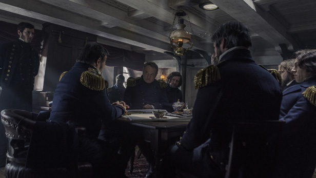The cast of The Terror - AMC