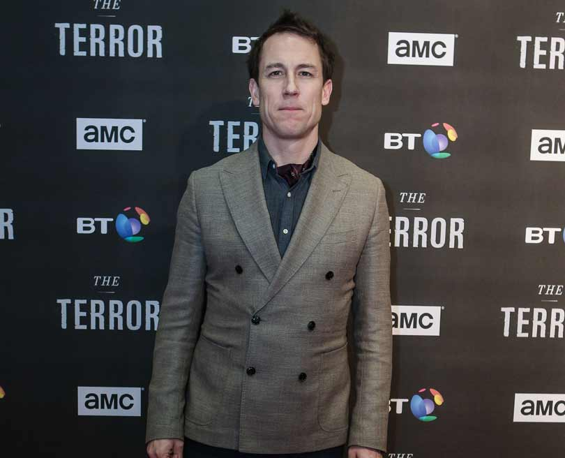 Tobias Menzie at The Terror premiere