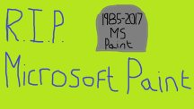 The tributes are flooding in as Microsoft announces plans to kill off Paint