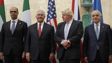 The US will be 'steadfast ally' to the UK during Brexit, Rex Tillerson pledges