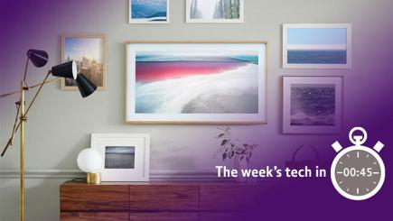 The week's tech in 45 seconds