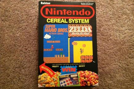 The weirdest gaming merchandise Nintendo Cereal System