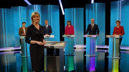 Leaders' debate: Theresa May and Jeremy Corbyn absent from five-way clash