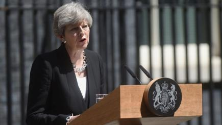 May drops key manifesto pledges from Queen's 'Brexit' speech