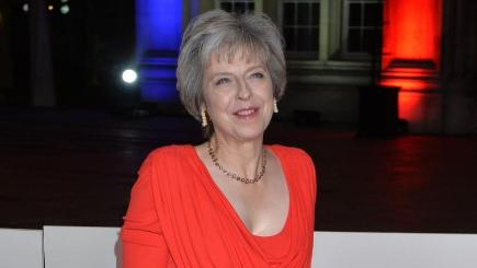 Theresa May Will Appear In American Vogue