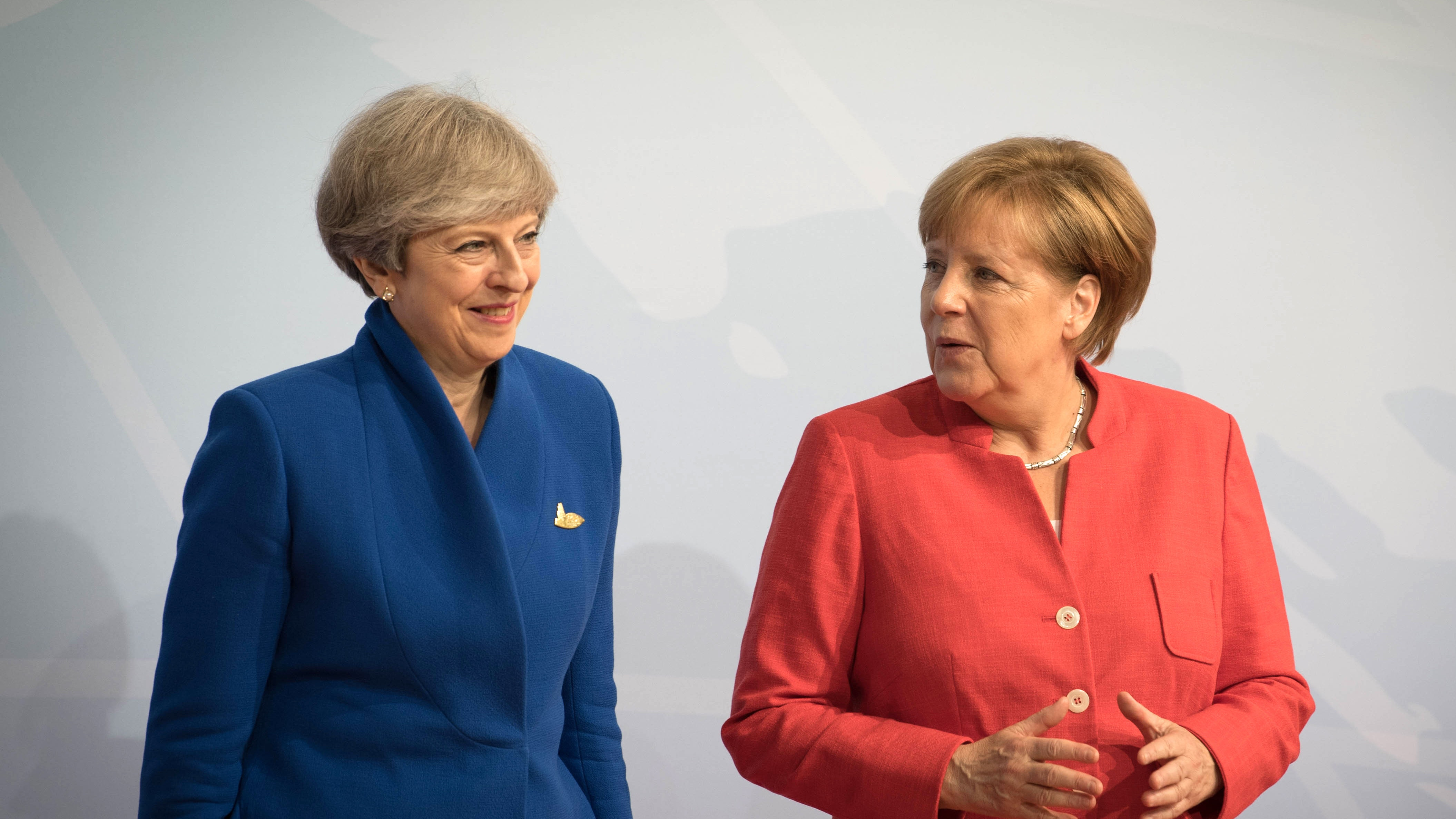 UK PM May To Meet German Chancellor Merkel Ahead Of Munich Speech