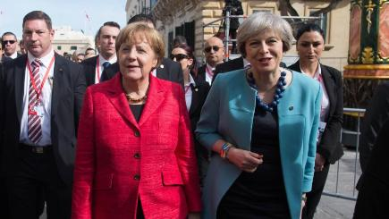 European Union  leaders not interested in Theresa May's 'bridge' to Donald Trump