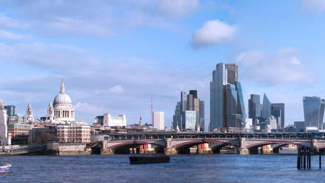 These computer generated images show how different London's skyline