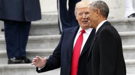 Bad Lip-Reading Inauguration Footage Shows How Trump & Obama REALLY Feel