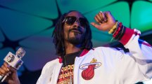 This is Snoop Dog watching Lorraine from BGT