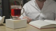 This levitating cup is all you need to impress dinner guests