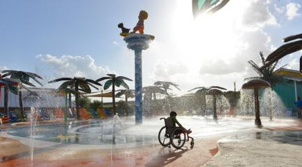 This new disability-friendly water park is the coolest thing you'll see today
